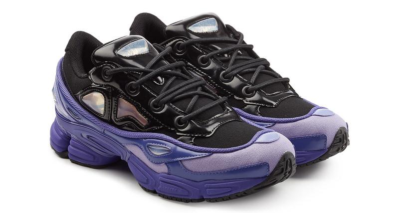 "official photos 35d11 4e797 adidas by Raf Simons Ozweego III ""Purple""  Coming Soon"