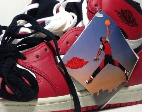 Nike Air Jordan 1 with Jumpman hangtag