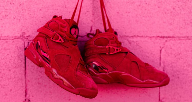 "Air Jordan 8 ""Valentine's Day"""
