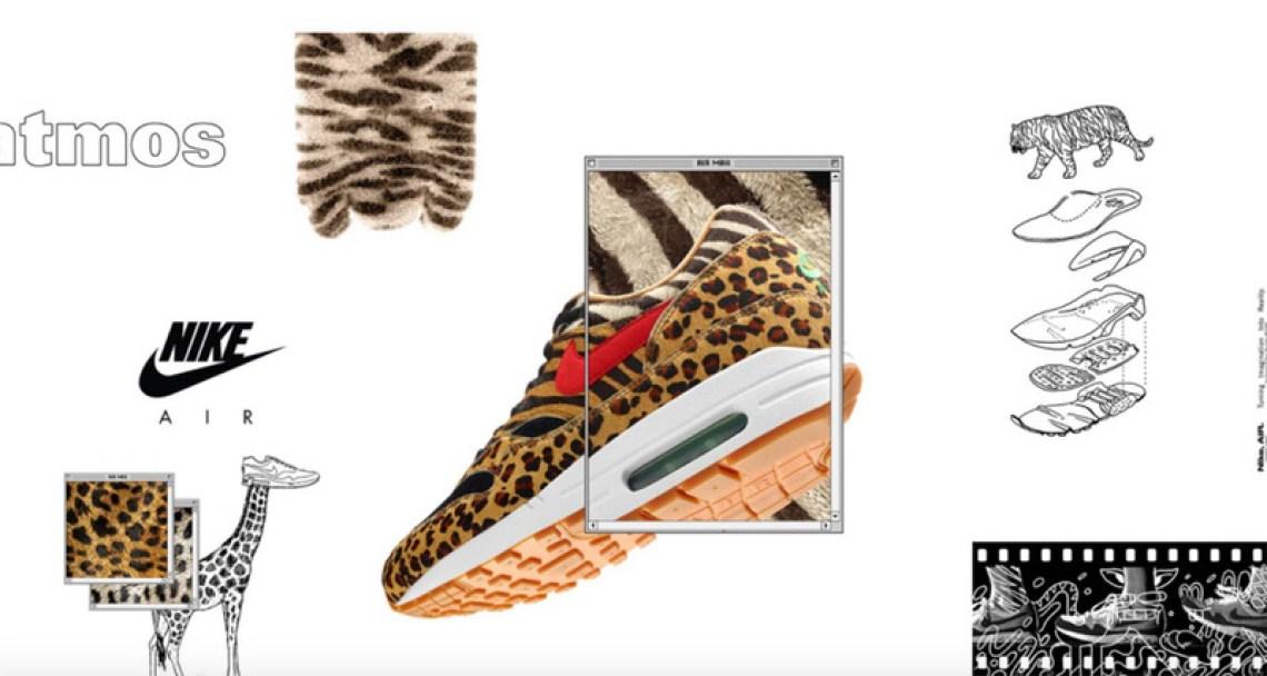 "atmos x Nike Air Max ""Animal Pack 2.0"""