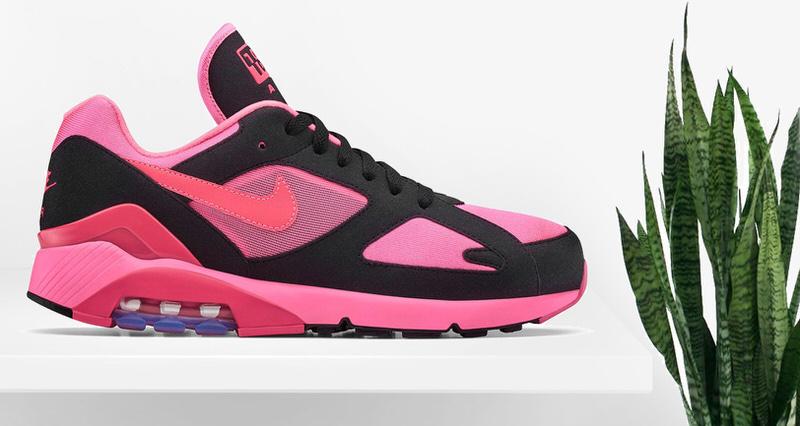 buy online 62b0f d1841 COMME des GARÇONS HOMME Plus x Nike Air Max 180 // Another Look
