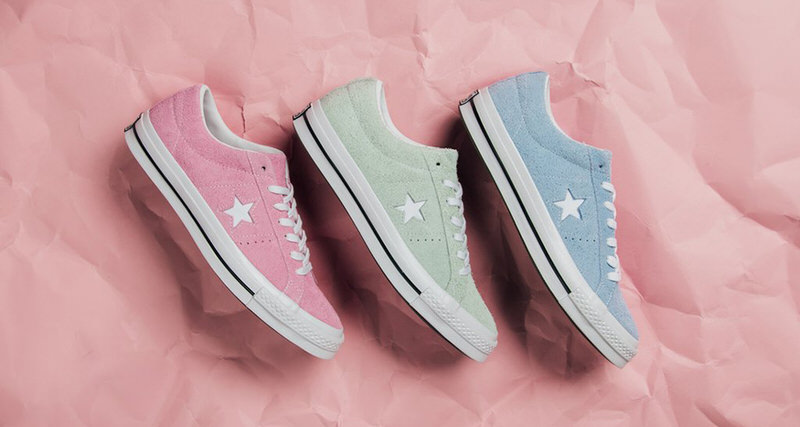 """Converse One Star """"Cotton Candy"""" Pack"""
