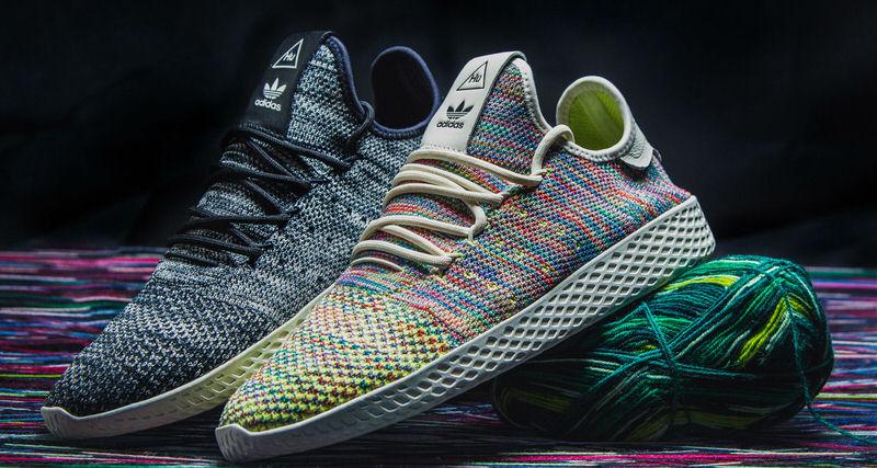 "c1aebeb9f9cc9 Pharrell Williams x adidas Tennis Hu ""Oreo""   ""Multicolor""    Coming Soon"