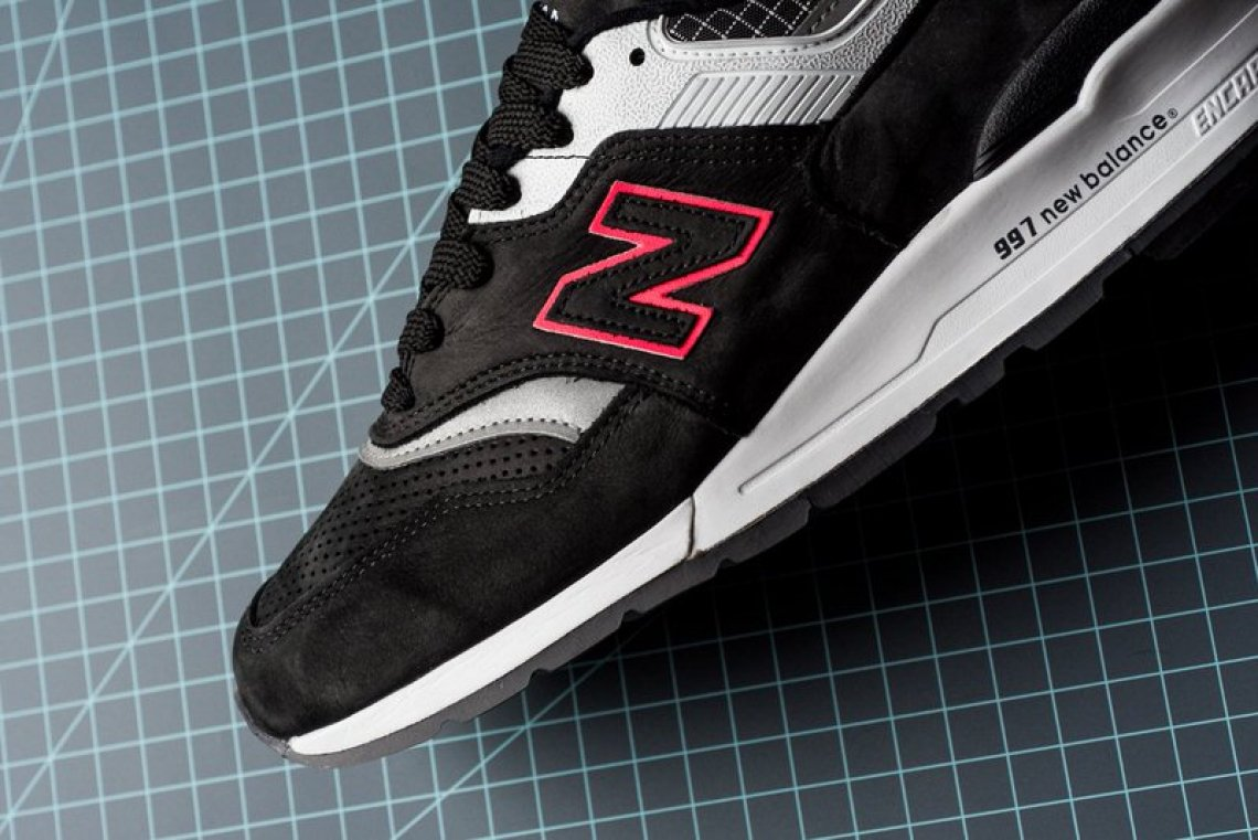 huge sale ba12d 36e9b New Balance M997CR Black/Pink // Available Now | Nice Kicks