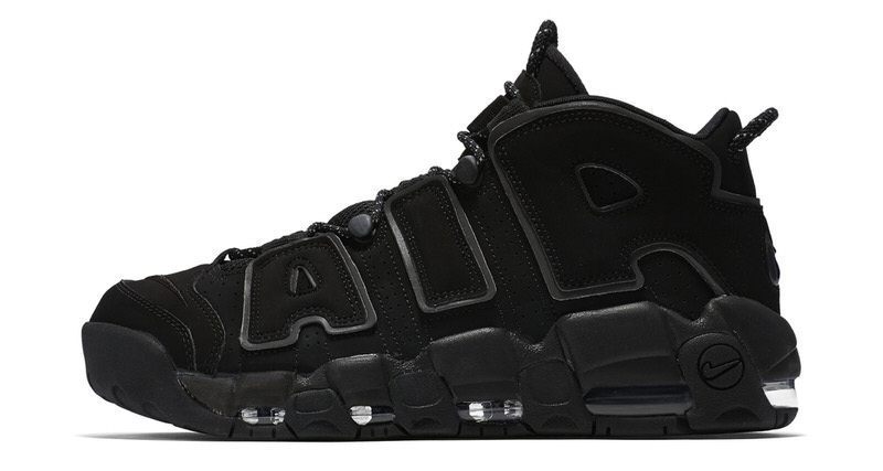 "Nike Air More Uptempo ""Black Reflective""    Release Date c196fbe38"