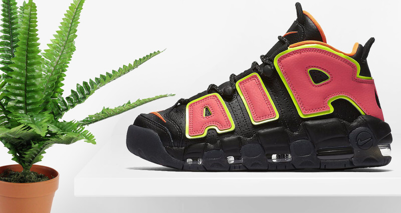 """e63f3bb4e34 Nike Air More Uptempo """"Hot Punch"""" for Women Drops in April"""