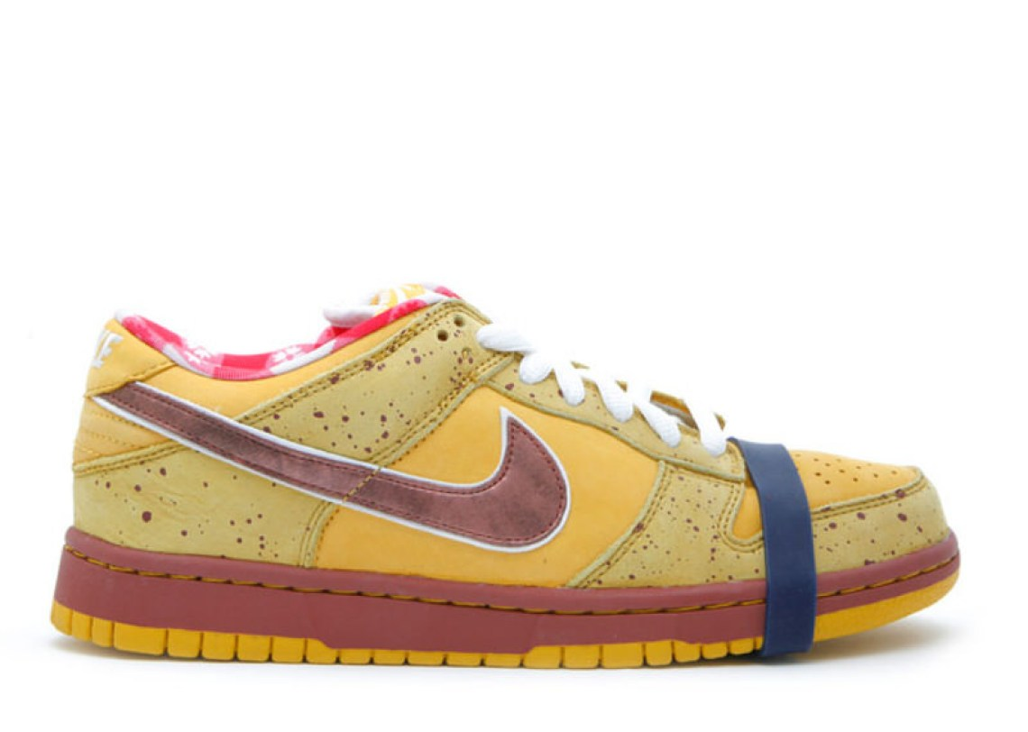 "Nike SB Dunk Low ""Yellow Lobster"""