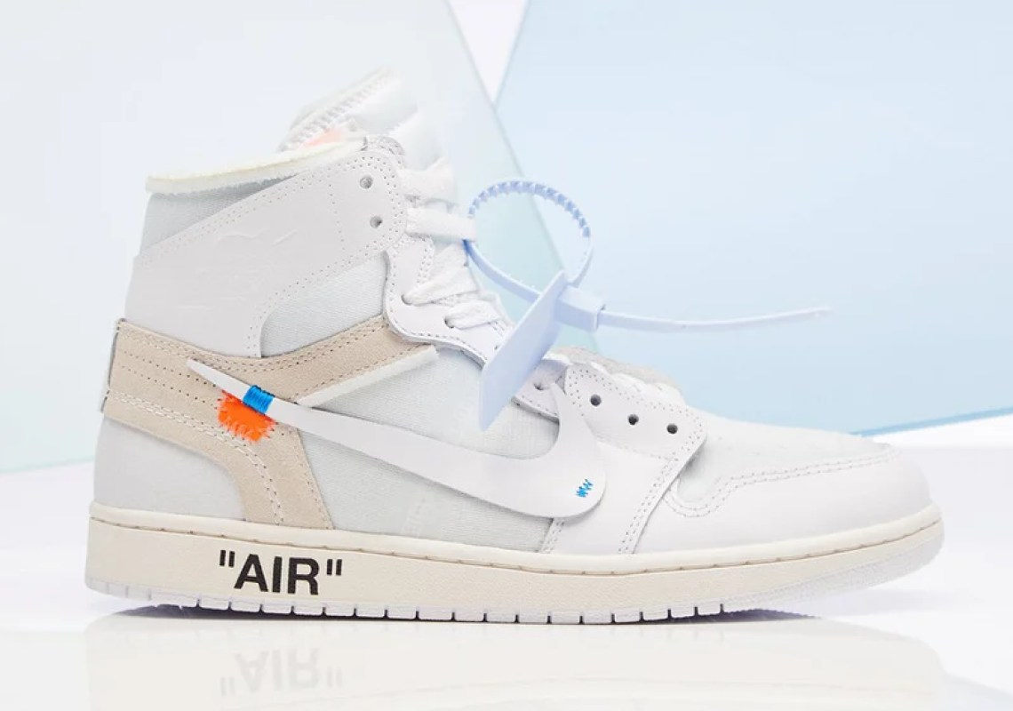 "OFF WHITE x Air Jordan 1 ""White"""
