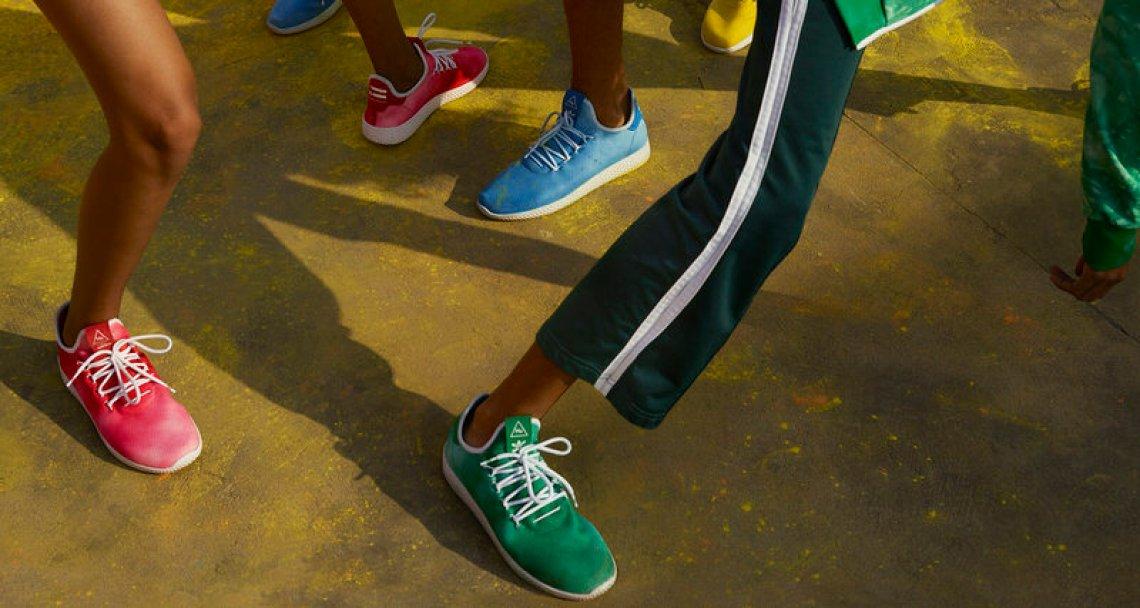 Pharrell x adidas Hu Holi adicolor Collection