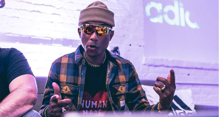 Pharrell Williams Interview at Adidas Football Space 2018