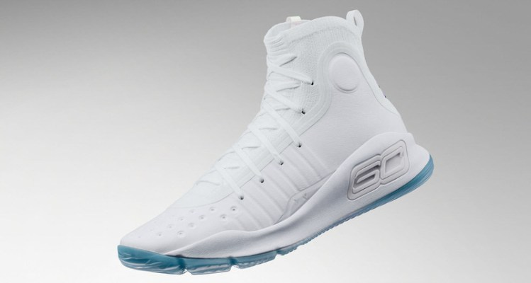 """Under Armour Curry 4 """"White/White"""""""