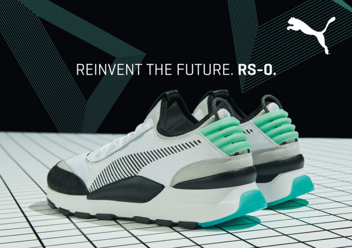 buy popular 77f5a 7a92b Having landed on the RS, the global sports brand take cues from the past  and moves into the future by completely rebooting the RS design.