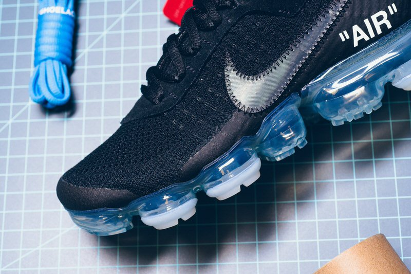 "... OFF WHITE x Nike Air VaporMax ""Black"" ..."