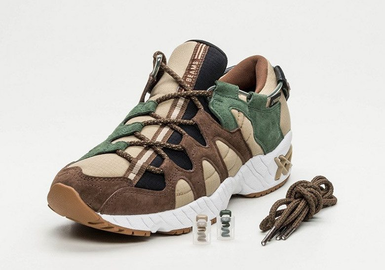 "BEAMS x ASICS Gel Mai ""Dark Forest"""