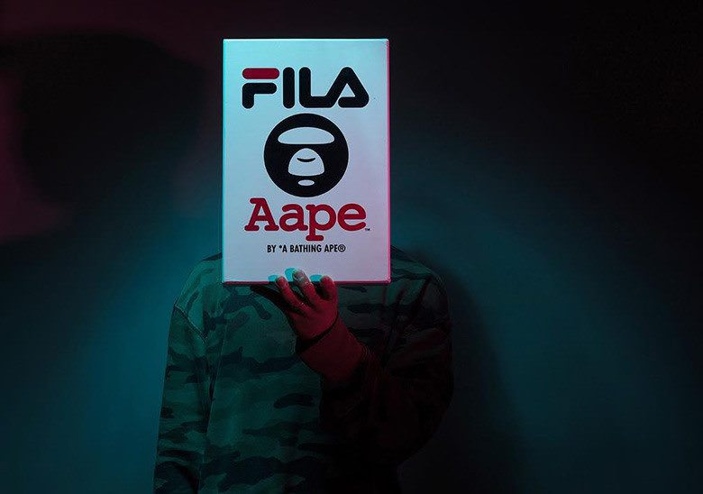 AAPE by A Bathing Ape and FILA Collab Coming Soon