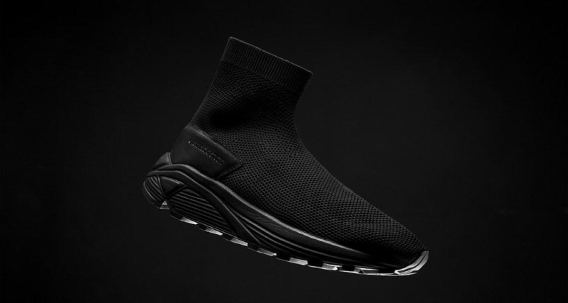 "N.D.G. Studio 2084 Sock Sneaker ""Triple Black"""
