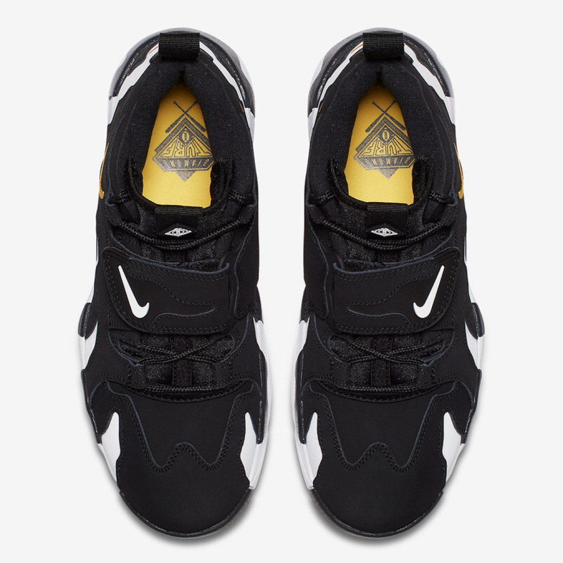 Nike Air DT Max '96 Black/Varsity Maize