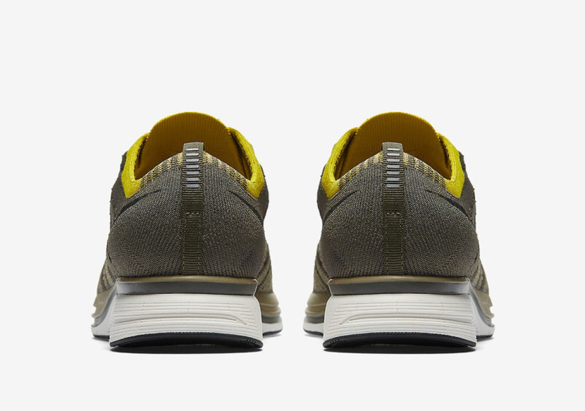 cc8ca016692d Nike Flyknit Trainer Cargo Khaki Bright Citron Release Date