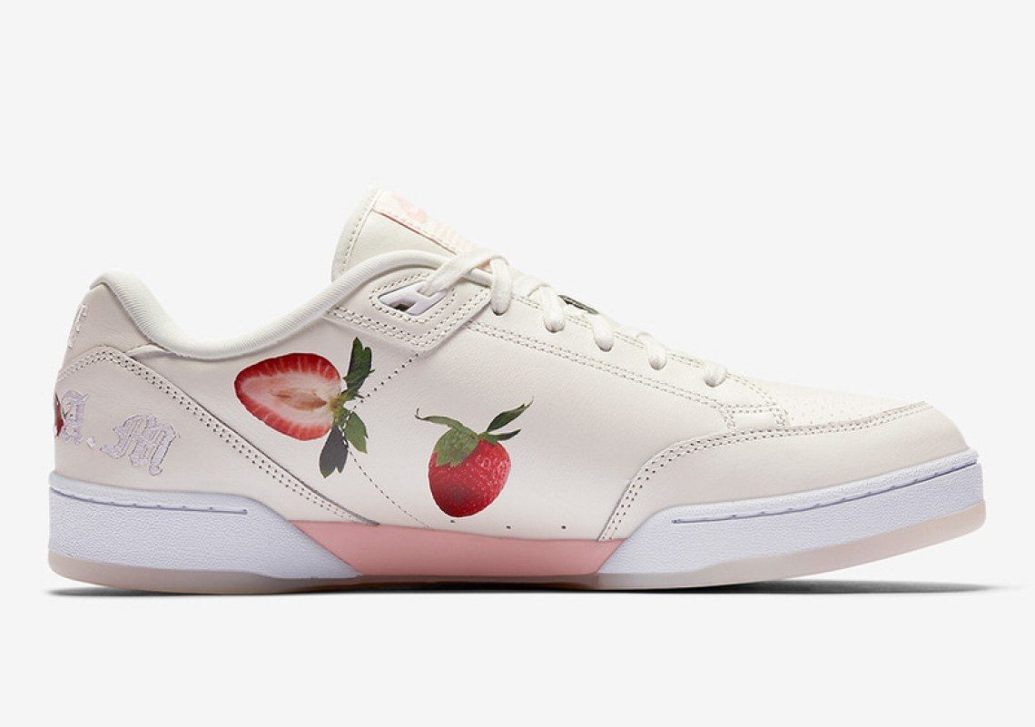 nike grandstand ii strawberries and cream april 2018 nice kicks. Black Bedroom Furniture Sets. Home Design Ideas