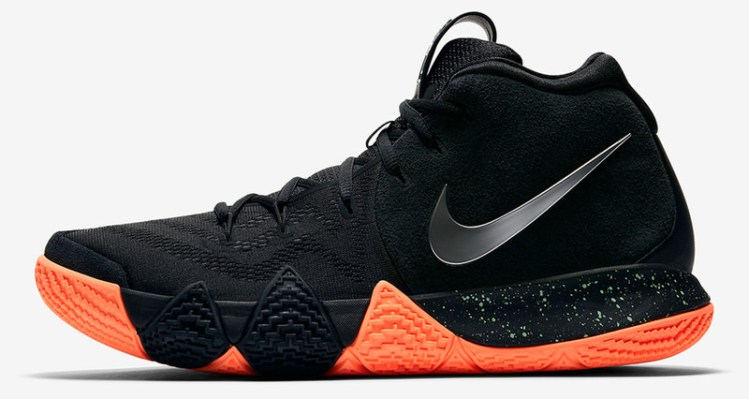 Nike Kyrie 4 Black/Orange