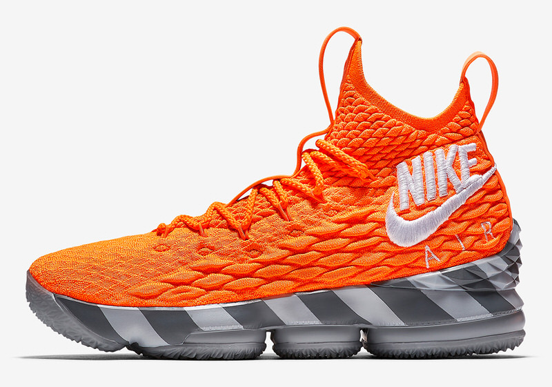 e53eb2416c33 order orange silver mens nike lebron 15 shoes f91fc bf15f