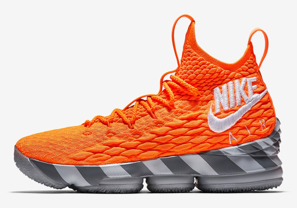 "Nike LeBron 15 ""Orange Box"""
