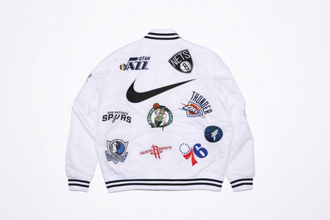 more photos 599e7 6d87d Supreme x NBA x Nike Air Force 1 Mid Pack