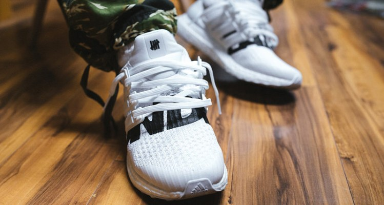 Undefeated x adidas Ultra Boost White/Black