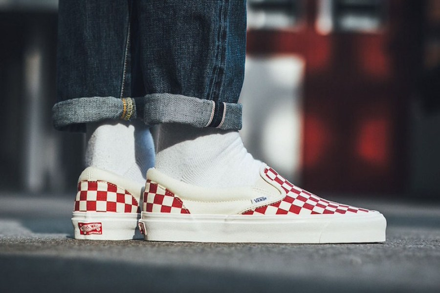 "Vans OG Classic Slip-On ""Red Checker"""