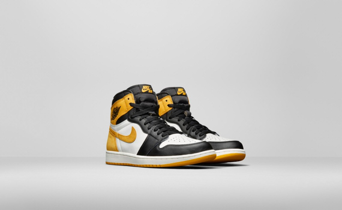 "4fd8c978 Air Jordan 1 ""Yellow Orche"" ..."