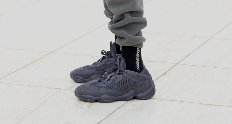 "788c608e96702 adidas Yeezy 500 ""Utility Black"" Could Be Releasing Soon"