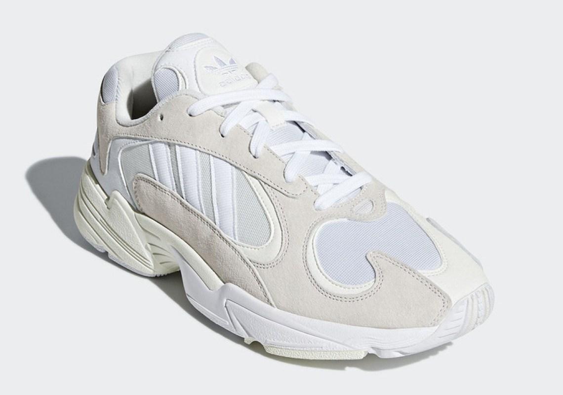 adidas Yung-1 Beige/White
