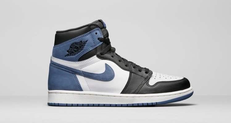 """Air Jordan 1 """"Blue Moon"""""""