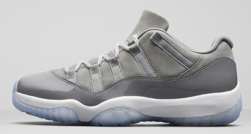 e0d33e26f93dd5 Air Jordan 11 Low Cool Grey Release Date
