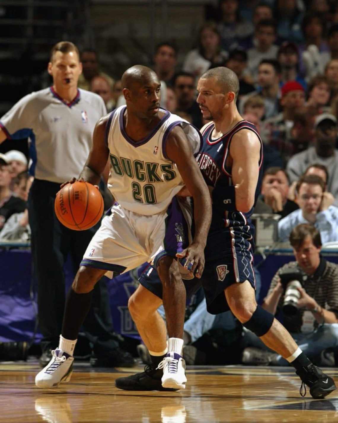 huge discount 9e3b7 e8824 Gary Payton in the Nike Air Ultraflight   Jason Kidd in the Nike Zoom  Flight 2k3 (Photo by Gary Dineen NBAE via Getty Images)