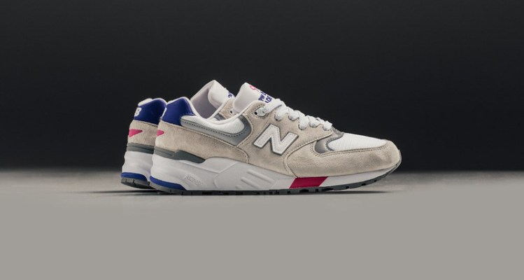 New Balance 999 White/Blue