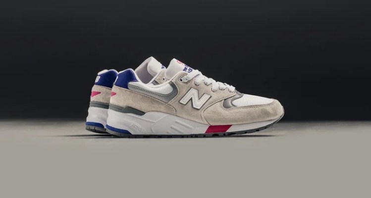 new arrival 12fa7 ec9c4 New Balance 999 White Blue    Available Now
