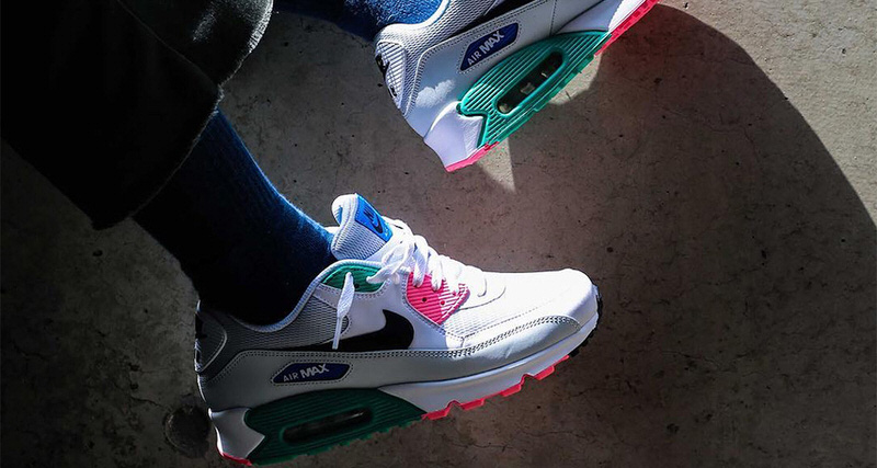 """the best attitude c9f6b 9f5d2 The Nike Air Max 90 """"Summer Sea"""" is Selling Fast. Apr 3, 2018"""