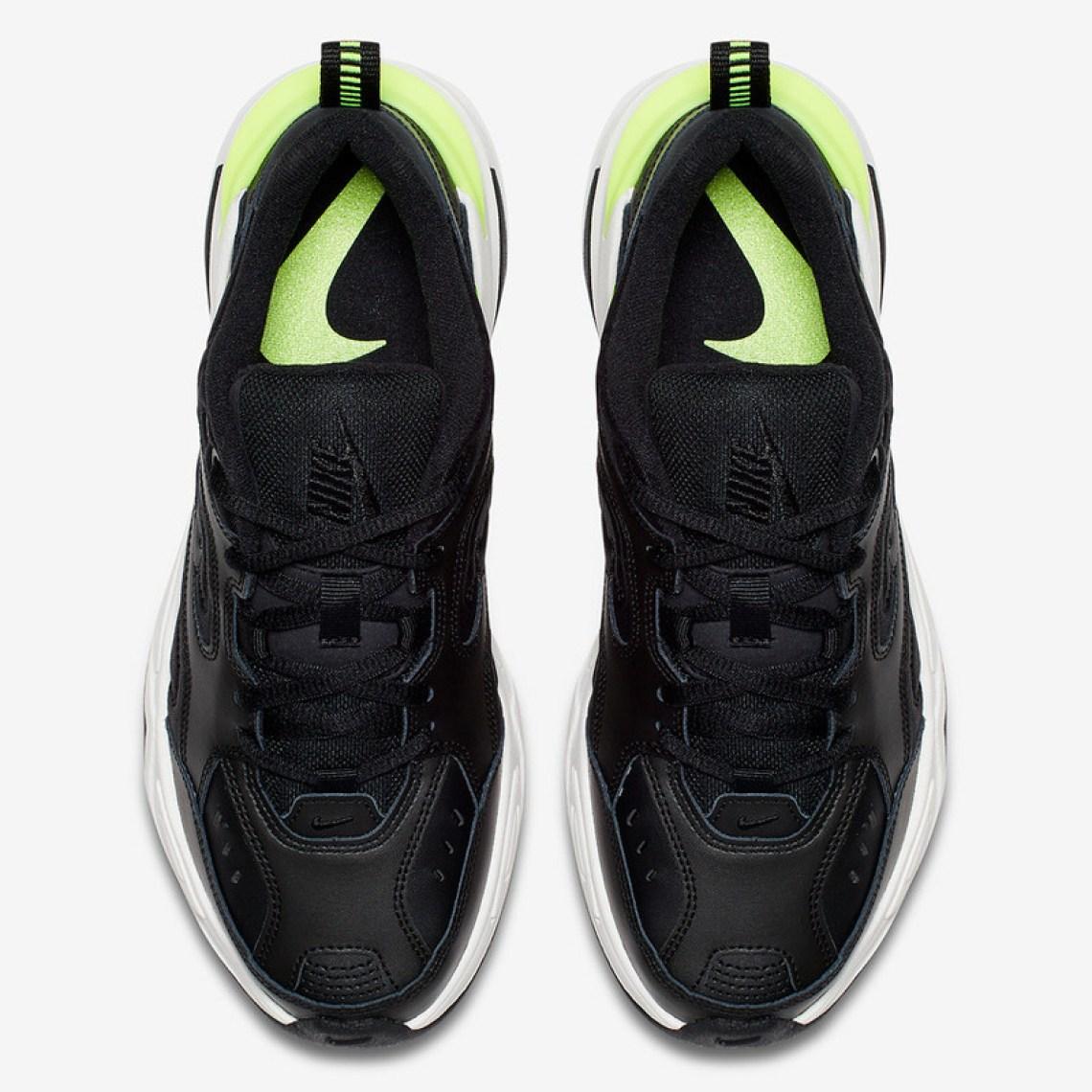 Nike M2K Tekno Black/Volt