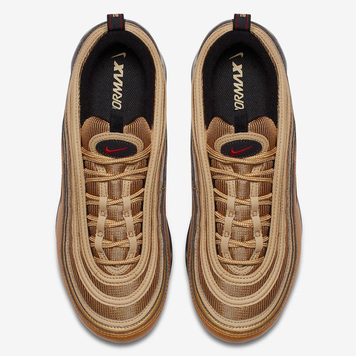 """Nike Air VaporMax 97 """"Metallic Gold"""""""