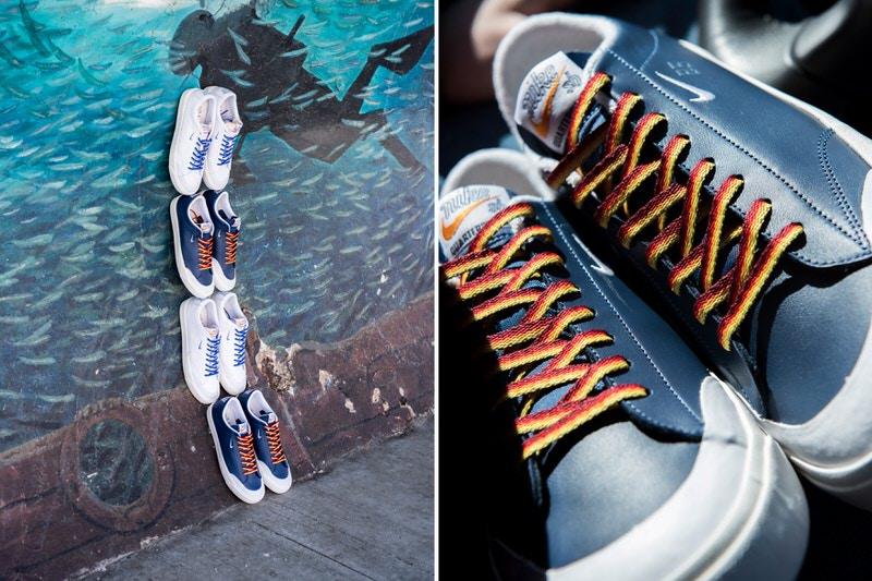 Quartersnacks x Nike SB Blazer Low XT