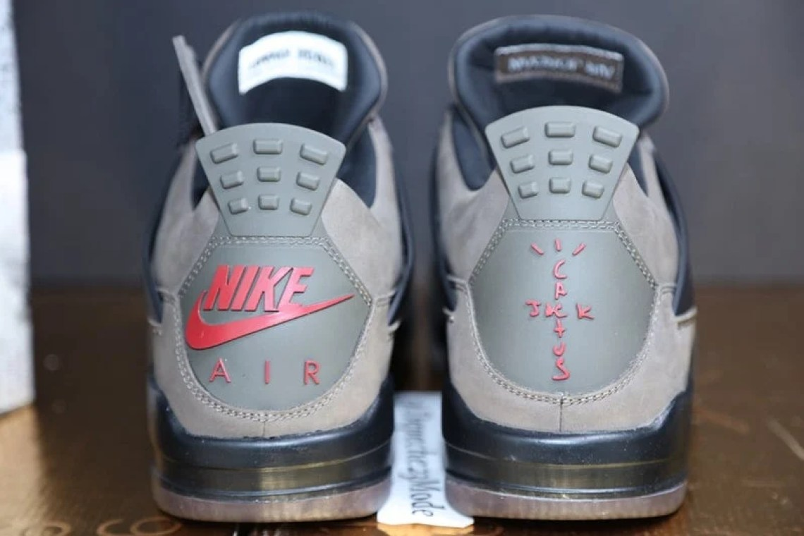 "Travis Scott x Air Jordan 4 ""Olive"""