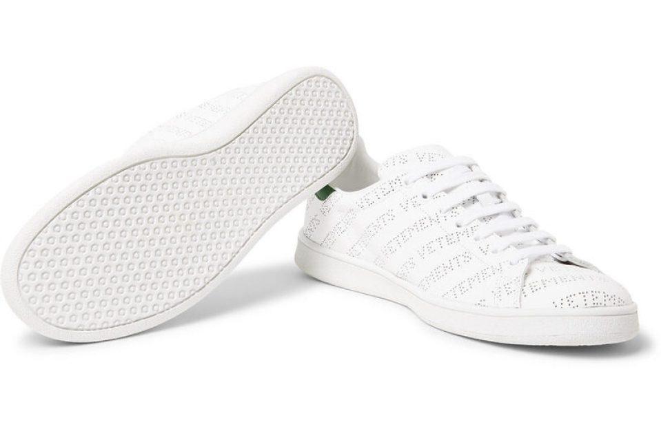 Vetements Perforated Logo Sneakers