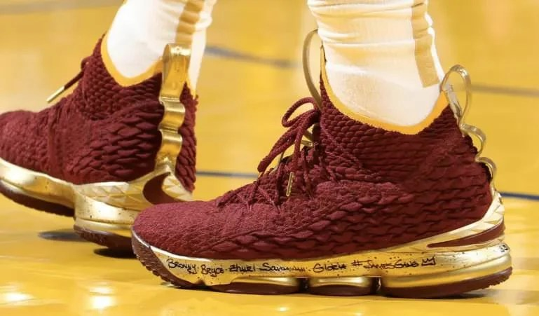 8ae5c12d44e7 Every Sneaker Worn by LeBron James This Season