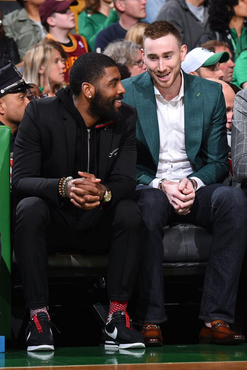 "Kyrie Irving in the Nike Cortez ""Kenny III"""