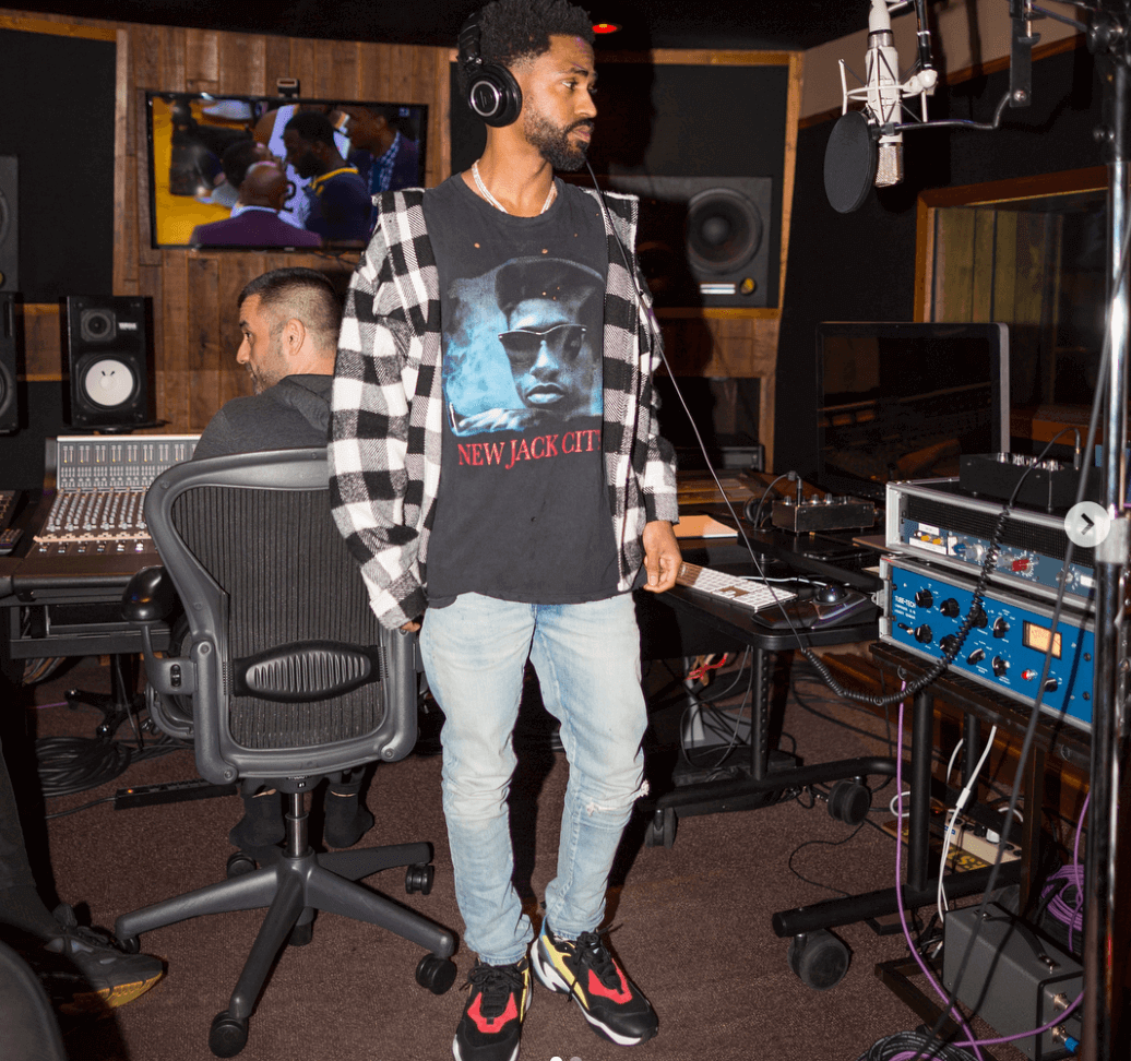 Big Sean in the Puma Thunder Spectra