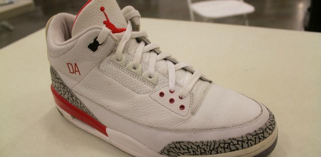 Air Jordan 3 White/Red PE
