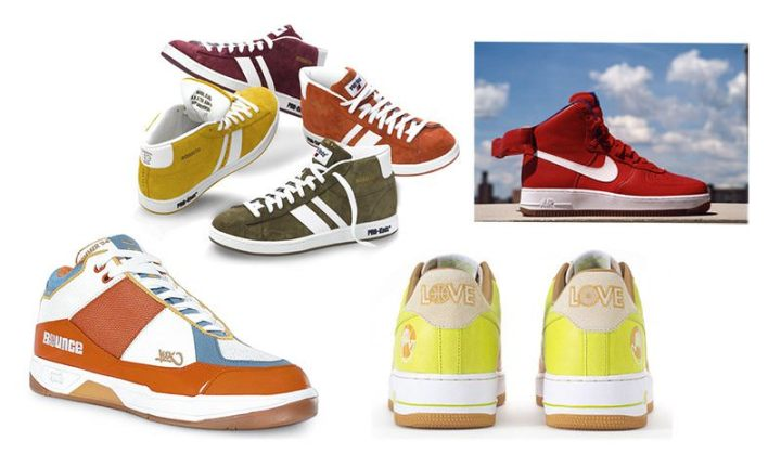 A handful of prior Bobbito Garcia footwear projects