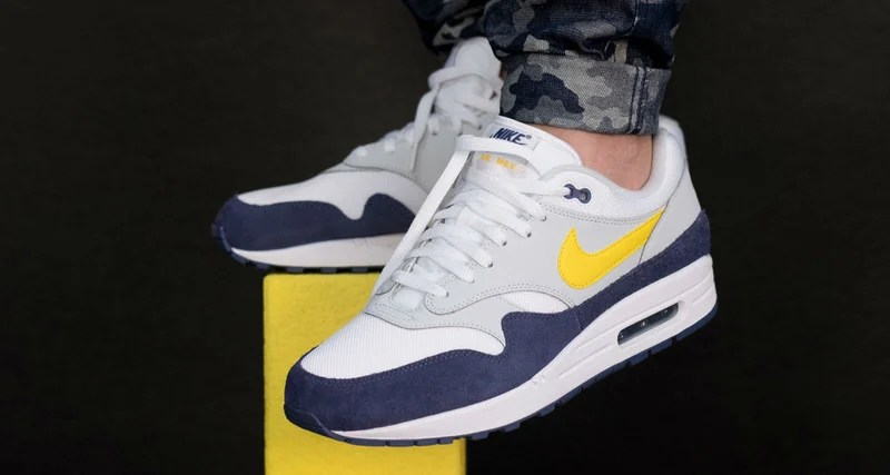 quality design e051e 15ce6 Nike Air Max 1 Appears in Tour Yellow Blue Recall Colorway