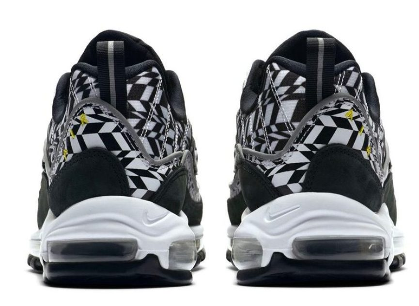 """973e204f0e9 The Nike Air Max 98 """"AOP"""" Pack is slated for release on May 31 for  160 USD  each at Nike.com and Swoosh retailers worldwide."""